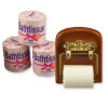 Reutter Bathroom Wood Tissue Holder Set