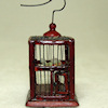 Bespaq Mahogany Wood LTD Square Bird Cage