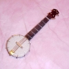 Dollhouse Miniature Wood Banjo