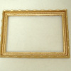 Gold Scalloped Picture Frame