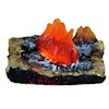 Illuminated Raging Fireplace or Campfire Logs
