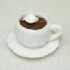 Filled Cup of Hot Chocolate with Whipped Cream