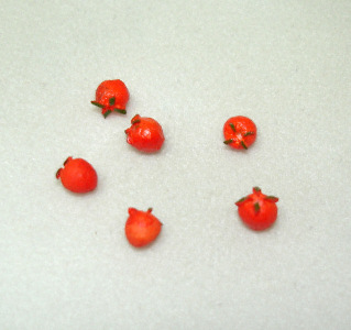Bunch of Tiny Cherry Tomatoes