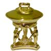 Art Deco Chafing Dish Golden Metal
