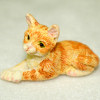 Orange Tiger Stripe Kitten