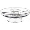 Turning Glass Lazy Susan Party Serving Dish