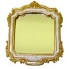 Antiqued Gilded Frame Wall Mirror