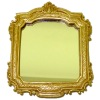 Large Wall Mirror with Ornate Gilded Frame