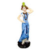 Tiny High Fashion Lady Statuette
