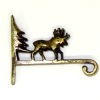 Metal Moose Wall Bracket or Plant Hanger