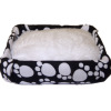 Pet Bed with Soft Fuzzy Cushion