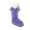 Hand Crafted Lavender Velvet Christmas Stocking