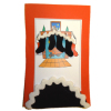 Christmas Stocking and Tree Skirt Set - Black