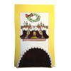 Christmas Stocking and Tree Skirt Set - Burgundy