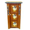 Wood Jelly Cabinet With Handpainted Geese