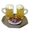 Artisan Crafted Beer and Pretzels Set