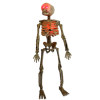 Halloween Skeleton with Lighting Eyes & Heartbeat Battery Op