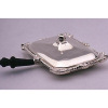Peter Acquisto Sterling Silver Silent Butler Dish