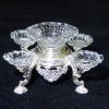 Peter Acquisto Limited Edition Sterling Silver & Crystal Epergne
