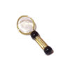 Handcrafted Metal Magnifying Glass with Clear Lens