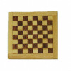 All Through The House Inlaid Mahogany Checkerboard