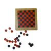 All Through The House Wood Checkers Game Board