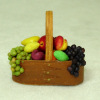All Through the House Handcrafted Filled Shaker Fruit Basket