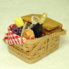 All Through the House Handcrafted Filled Picnic Basket