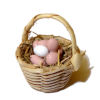 All Through the House Handcrafted Filled Egg Basket
