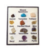 All Through the House Mineral Collection Display - Real Minerals