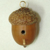 All Through the House Handcrafted Acorn Bird House