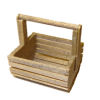 All Through the House Handcrafted Wood Clam Basket