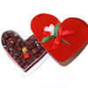 All Through the House Valentine's Day Heart Shape Chocolate Box