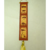 Alice Zinn Handcrafted African Safari Bell Pull