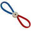 Alice Zinn Dog Pull Toy - Red and Blue