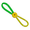 Alice Zinn Dog Pull Toy - Green and Yellow
