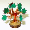 Alice Zinn Handcrafted Family Tree Sculpture and Photo Stand