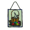 Alice Zinn Stained Glass Sun Catcher - Easter Basket with Eggs