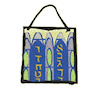 Alice Zinn Stained Glass Sun Catcher - Hebrew Letters