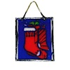 Alice Zinn Stained Glass Suncatcher - Christmas Stocking