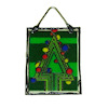 Alice Zinn Stained Glass Sun Catcher - Christmas Tree