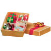 Gift Box Filled with Christmas Decorations