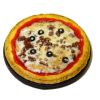 Bette Accola Handcrafted Sausage Pizza with Black Olives