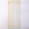 Handcrafted Lace Trim Ecru Net Door Panel Curtain