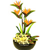 Handcrafted Bird-Of-Paradise Flower Arrangement