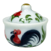 Rooster Theme Pot With Cover