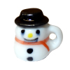 Snowman Mug With Tophat Cover