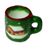 Christmas Coffee Mug Winter Cottage Scene