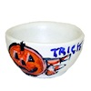 Handcrafted Halloween Candy Trick or Treat Jack O Lantern Bowl