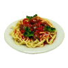 Spaghetti and Meatballs Plate
